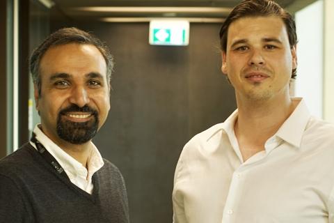 Dr Hassan Habibi and Mr Adam de Jong