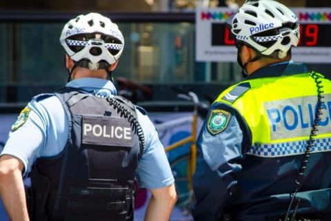 police in uniform