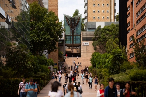 UNSW main walkway