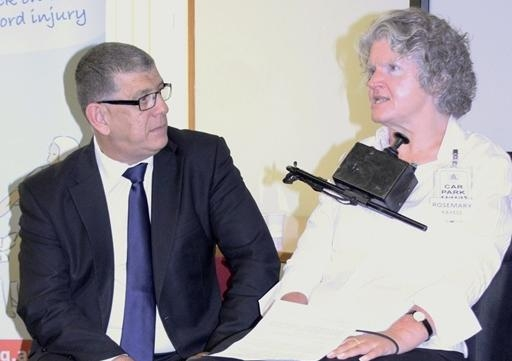 15 Minister for Ageing and Disability Services John Ajaka and Rosemary Kayess, SPRC 0