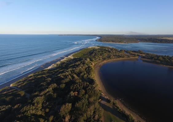 Coastal estuary