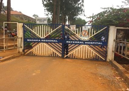 Masaka Regional Hospital in Uganda.