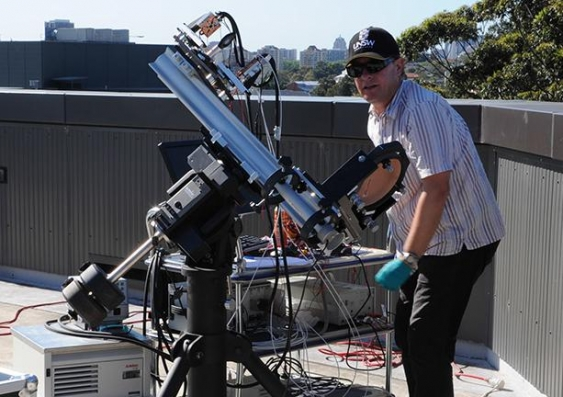 1RL 6394 (spectrum splitting prototype outdoor testing Mark Keevers) 1