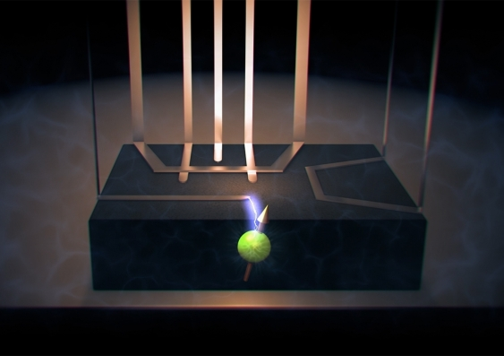 Nuclear electric resonance