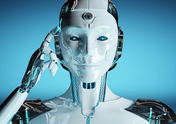 Futuristic android