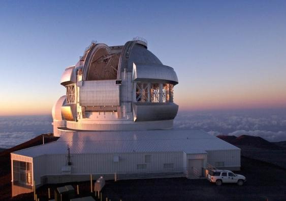 Gemini North telescope in Hawaii