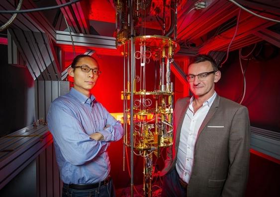 Henry Yang and Andrew Dzurak