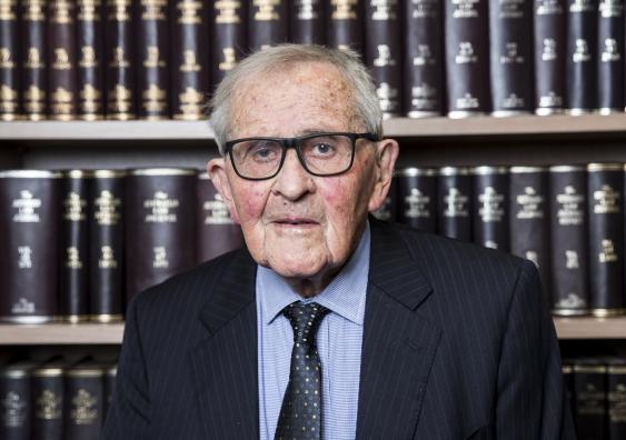 Emeritus Professor Hal Wootten AC QC, founding Dean of UNSW Law & Justice