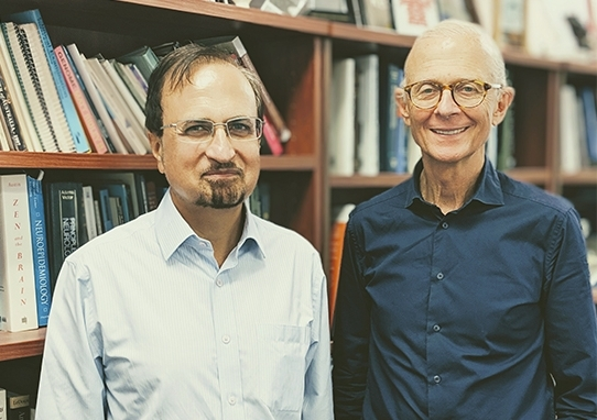 Professor Perminder Sachdev AM and Professor Henry Brodaty AO