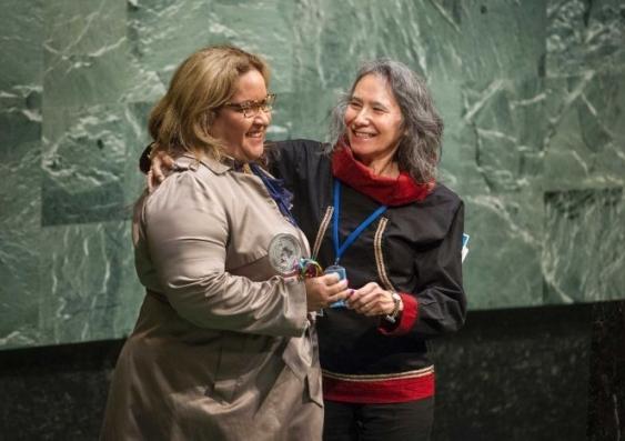 Megan Davis UN Permanent Forum