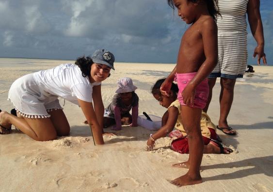 Beach worms
