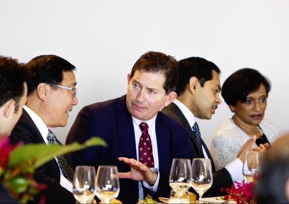 Diplomat luncheon