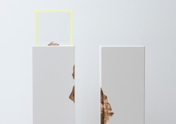 Plinth 1 & 2 (2019) Guy Keulemans & Kyoko Hashimoto. Photo: Carine Thevanau.