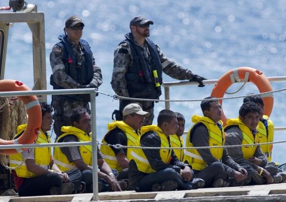 Asylum boat 1