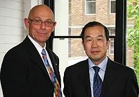 Chinese Ambassador inside
