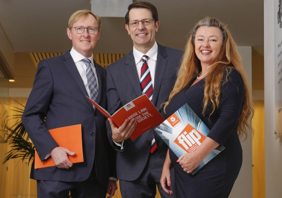 Members from the Law Society of NSW and Professor Legg will lead Flip Stream research