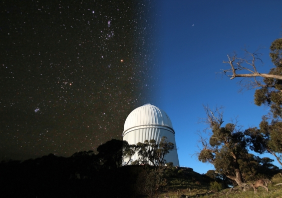 Day and night at the Anglo Australian Telescope