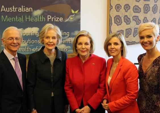Mental health prize