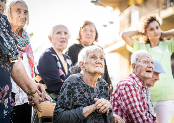 People in aged care