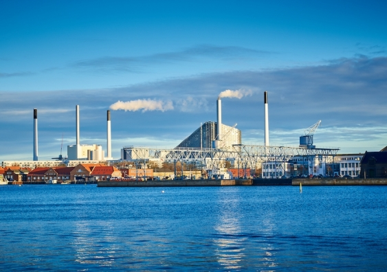 amager bakke power plant in copenhagen denmark