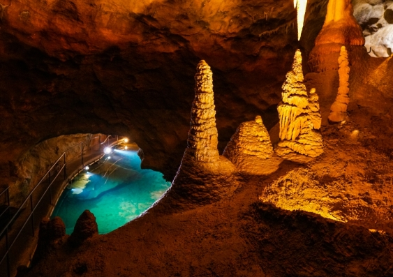 River Cave in the Jenolan Caves, NSW