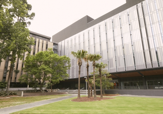 UNSW's School of Biotechnology and Biomolecular Sciences building