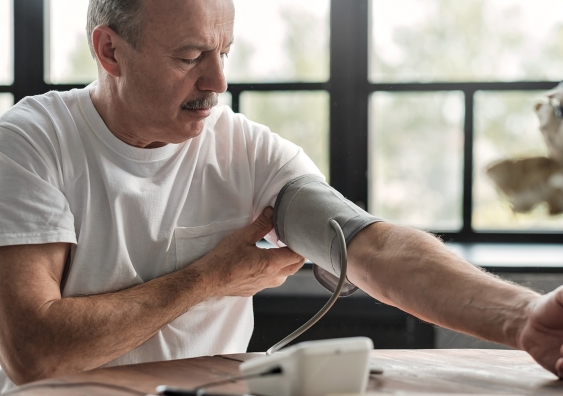 Testing blood pressure