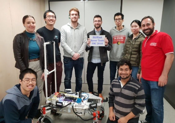 UNSW's Off-World Robotics team – part of the long-running BLUEsat student-led project – achieved their best placing in the competition to date.