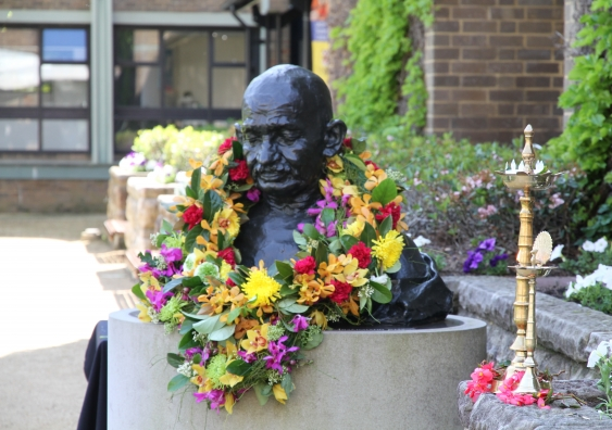 Gandhi bust