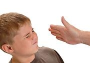 Child slap inside