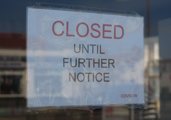 Shop closed for business