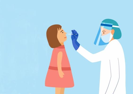 Covid testing for children