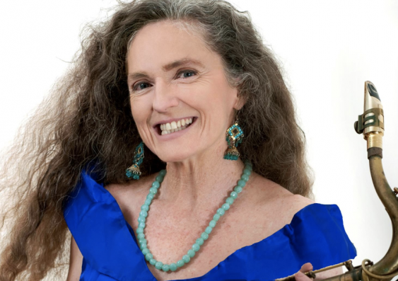 Dr Sandy Evans has been inducted into the Australian Jazz Bell Awards Hall of Fame