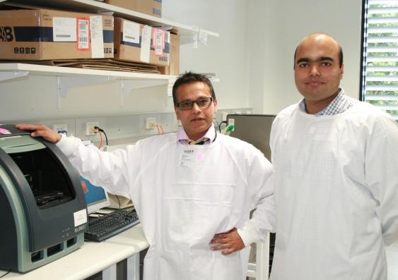 Professor Pimanda and Dr Unnikrishnan