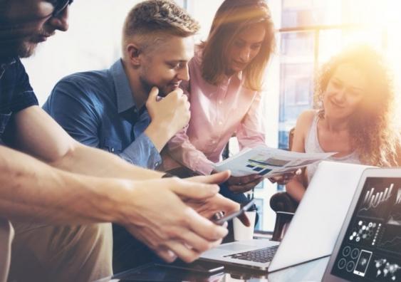 Employees adopting a learning mindset inline