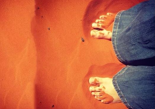 Amy's feet