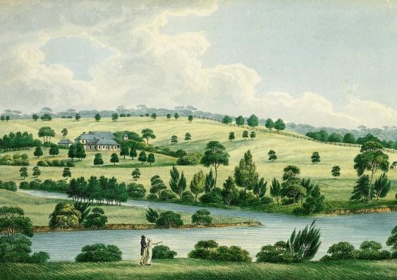 Elizabeth Farm painting