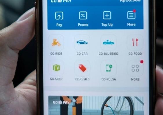 An app on a phone
