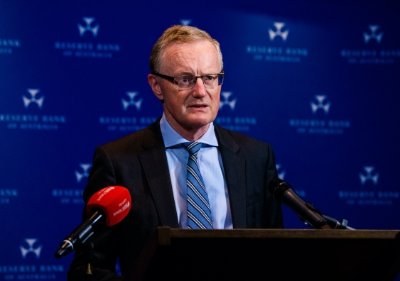 Philip Lowe, an Australian economist who is the current Governor of the Reserve Bank of Australia