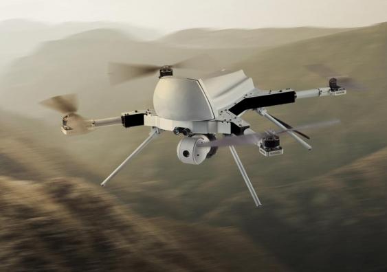 The STM Kargu attack drone. STM