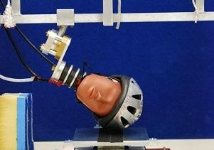 helmet crash tests don 39 t hit the road without one unsw. Black Bedroom Furniture Sets. Home Design Ideas