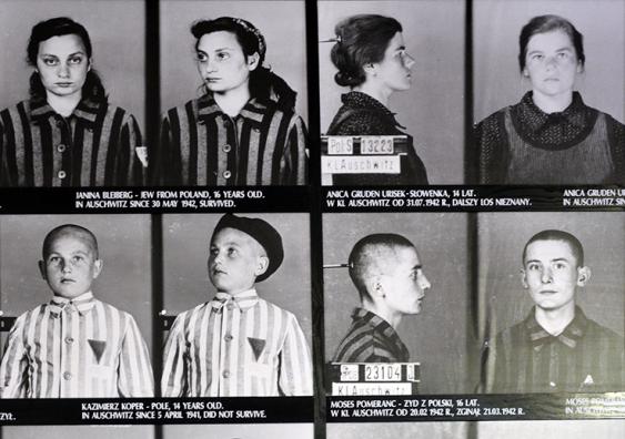 Jewish teenagers during WWII