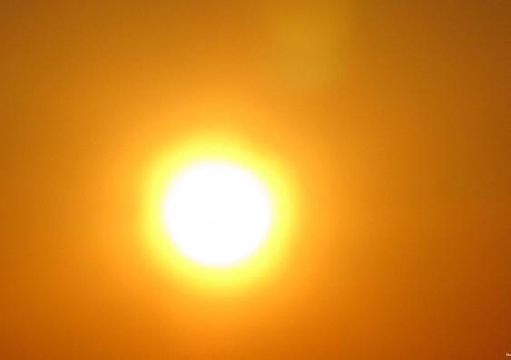 Hot sun 0