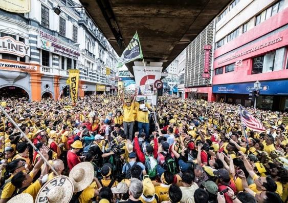 Malaysia 2015. Bersih