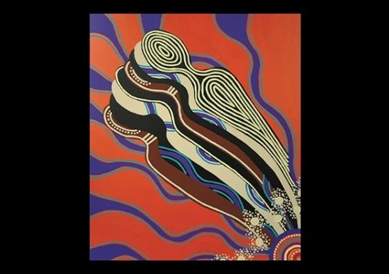 The Spirit People Dreaming by Joanne Nasir.