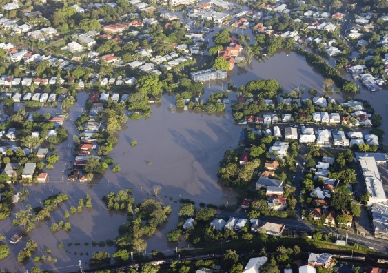 Brisbane river flood