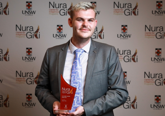 UNSW Law student Jake Fing