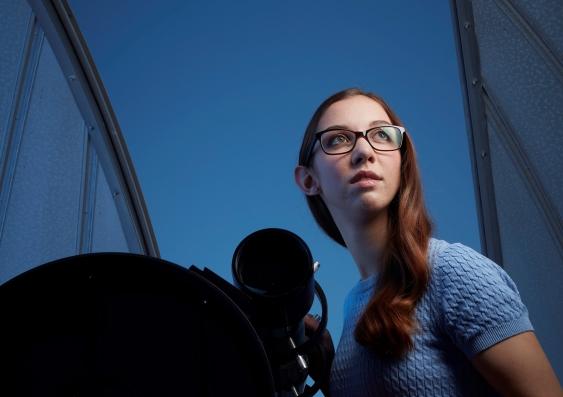 Astrophysicist Kirsten Banks