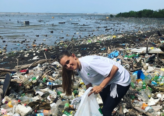 Martina de Marcos, Cleaning up the World campaign