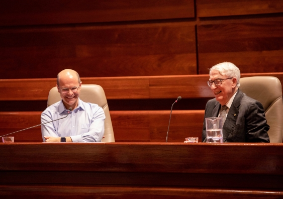 The Honourable Michael McHugh AC QC in conversation with Professor George Williams AO